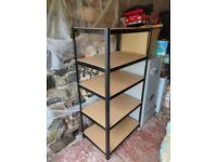 5 Tier Metal Deep Garage Shelving Unit Storage Shelves Racking