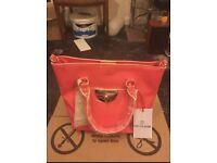 Brand New Tabitha Webb Pink Quill Mini bag