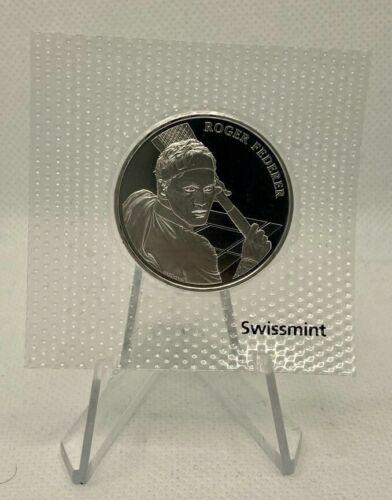 ROGER FEDERER - 2020 Switzerland 20 CHF Silver BU Coin Sealed
