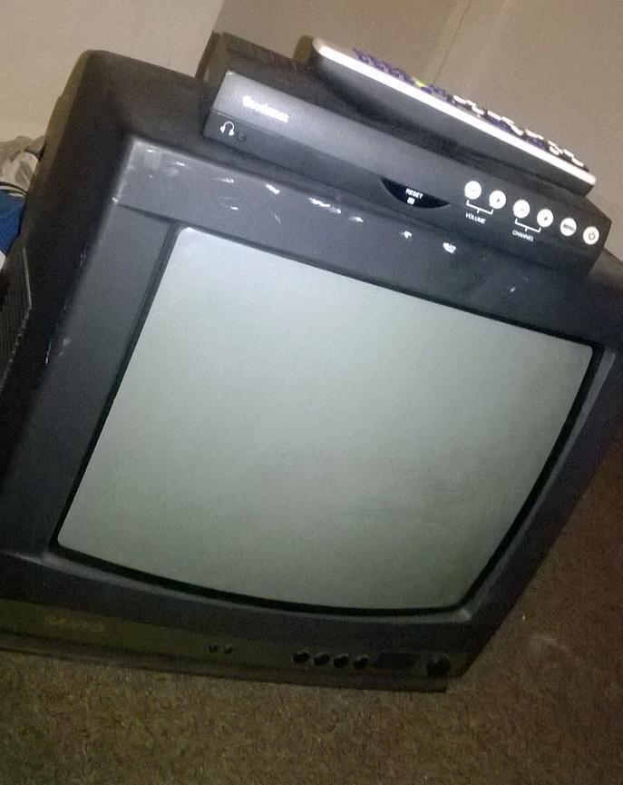 Portable Mattress Ikea TV and free view box | in Burton-on-Trent, Staffordshire | Gumtree