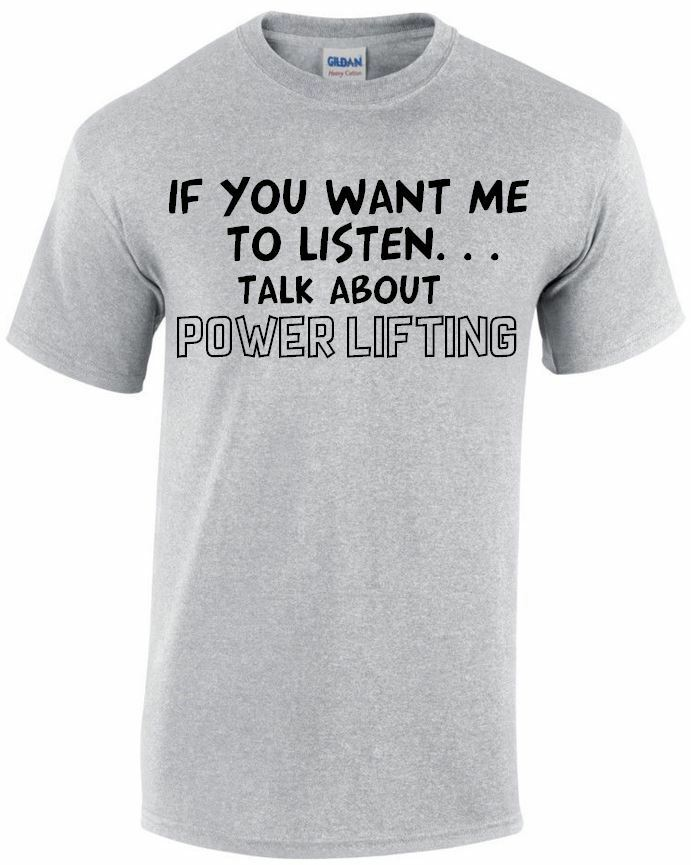 Talk About Power Lifting Funny Mens T-shirt Gift, Tshirt Gift Up To 5XL MT121