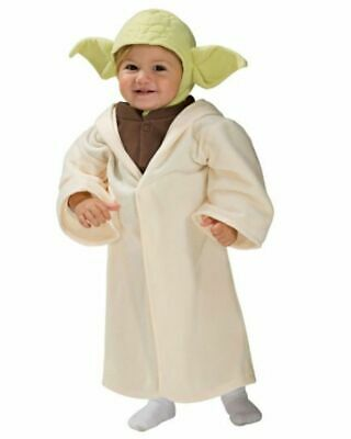 Rubies Disney Star Wars Baby Yoda Toddler Dress Up Costume Halloween Size 2T-3T