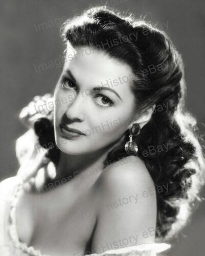 8x10 Print Yvonne De Carlo Beautiful Portrait 1951 #YD29