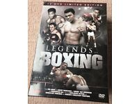 Legendss of Boxing (12) DVD Limited Edition Box (£45 New)