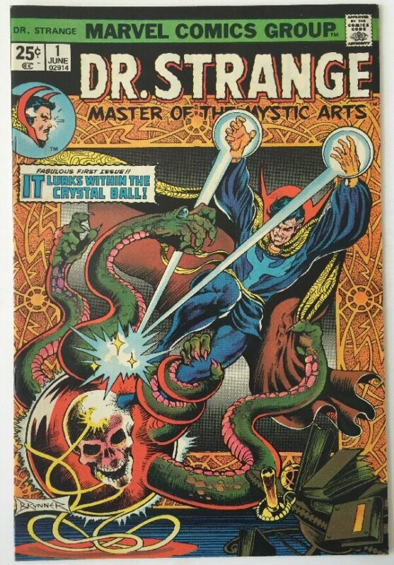 Dr. Strange 1, Marvel Comics , June 1974
