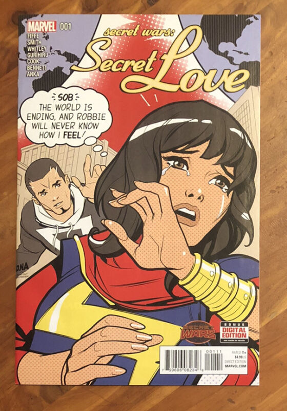 Secret Wars Secret Love #1 1st Print Kamala Khan Ms Marvel Disney+