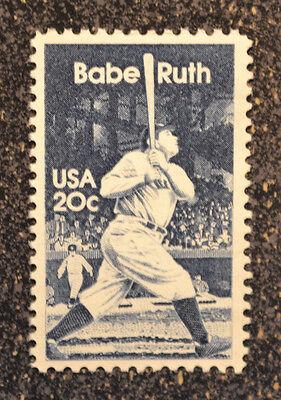 1983USA  2046  20C  BABE RUTH - BASEBALL - SINGLE POSTAGE STAMP  MINT NH
