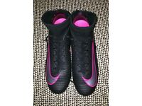 Nike size 8 Mercurial Superfly boots