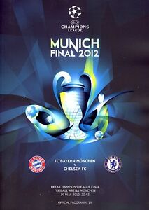UEFA CHAMPIONS LEAGUE FINAL 2012: Bayern v Chelsea