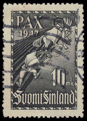 """FINLAND 265 (Mi338) - Celebration of Peace """"Ilmarinen the Plowman"""" (pf75483)"""
