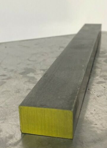 "1018 Steel Bar, Cold Drawn Flat 3/4"" x 1"" CD Flat x 12"" length"