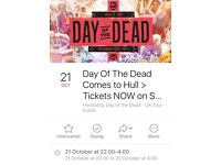 Day of the dead Hull tickets