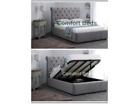 King Size Ottoman Bed Frame and Headboard
