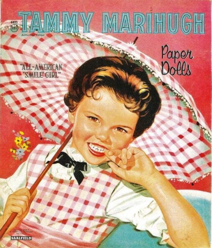 VINTAGE UNCUT 1960 TAMMY MARIHUGH PAPER DOLLS~EXTREMELY RARE~#1 REPRODUCTION!