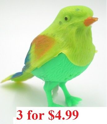 Chirping Bird Toy Sound Activated Party Favors lot](Sound Activated Toy)