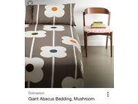 Orla Kiely Abacus superking bedding set.