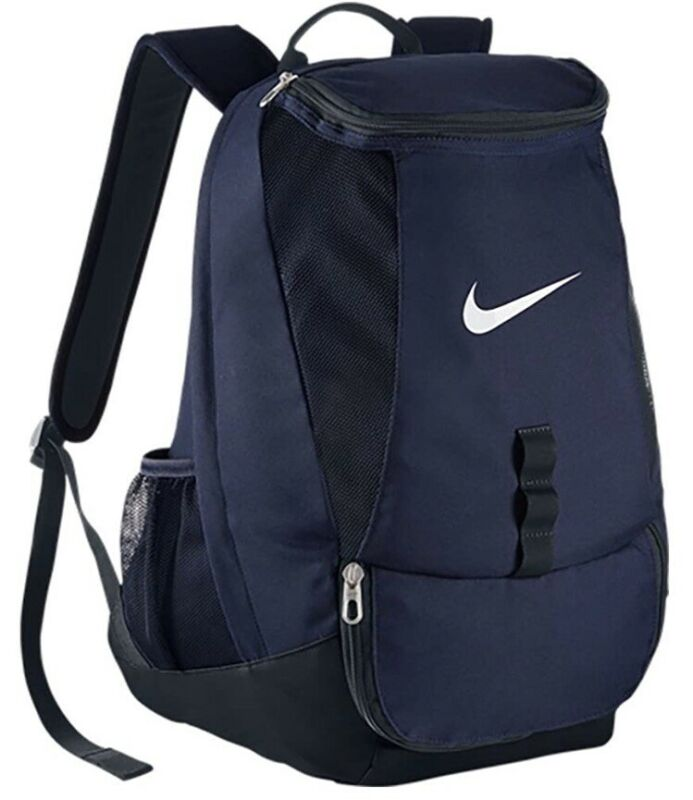 Nike Club Team Soccer Backpack Sz. M NEW BA5190-410 Midnight Navy