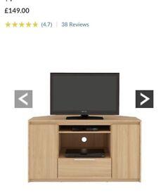 Brand new large black corner Tv unit bargain