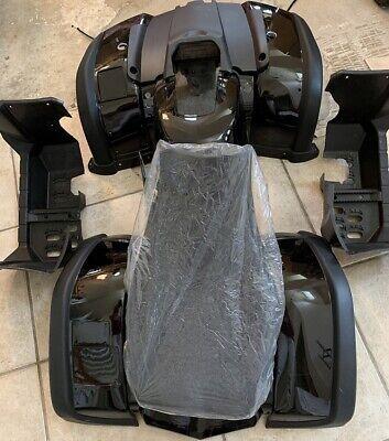 ATV Black Body kits Seat Taotao 150cc RHINO250 BULL Coolster 3150D Utility Black ()