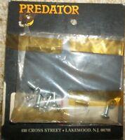 PREDATOR CARB BACKFIRE COVERS 1 #K5021 & 1 #K5021-1 (OEM RUBBER)