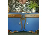 Art Deco waterfall sideboard