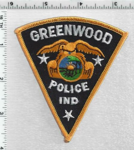 Greenwood Police (Indiana) 1st Issue Cap/Hat Patch