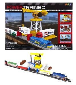 POWER-TRAINS-COLLECT-CONNECT-EXPAND-CRANE-SET-NEW-IN-BOX