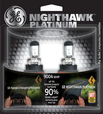 - Headlight Bulb-Nighthawk Platinum Twin Blister Pack GE Lighting 9004NHP/BP2