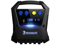 Michelin 12267 Cordless Rechargeable Car Tyre Inflator With USB - 20205