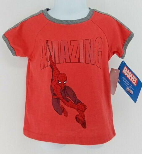 Toddler Boys Amazing Spider-Man Short Sleeve T-Shirt 18M