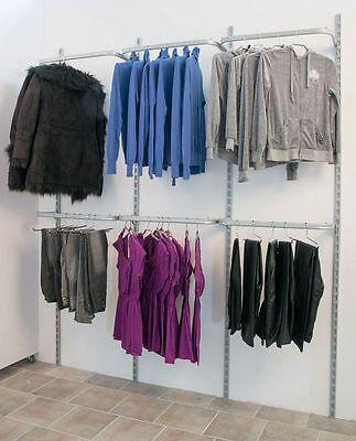 Wandsystem Kleiderständer Konfektionsrahmen Ladeneinrichtung Rondy Rückwand TOP