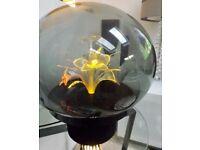 Vintage collectors Phantom Flower Lite fibre optic lamp 1970's Mathmos Crestworth interest