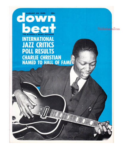 Down Beat 1966 Charlie Christian International Critics Poll Leroi Jones VG jazz