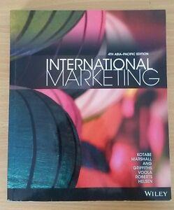 International Marketing Crawley Nedlands Area Preview