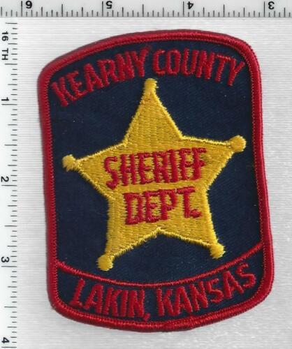 Kearny County Sheriff (Kansas) 1st Issue Shoulder Patch
