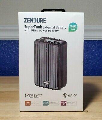 New Zendure SuperTank 27,000mAh Portable Charger / External Battery ZEN+2.0