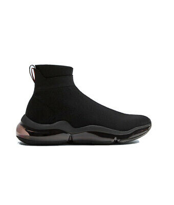 ZARA MAN SOCK SNEAKER THICK-SOLED BLACK - Size 11 US/ 44 Eur