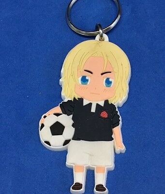 boy with soccar ball  - cute key chain , 2008 HH GH FUN - Soccar Ball