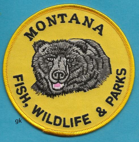 MONTANA FISH WILDLIFE PARKS SHOULDER  PATCH