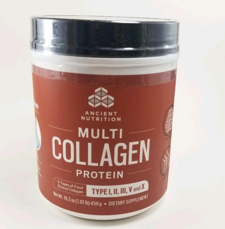 Dr. Axe Multi-Collagen Protein Powder 16 oz Best By 06/2021
