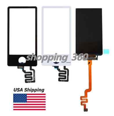 Apple Ipod Lcd Screen - For Apple Ipod Nano 7 7th Gen A1446 LCD Screen + Touch Digitizer 2 colors USPS