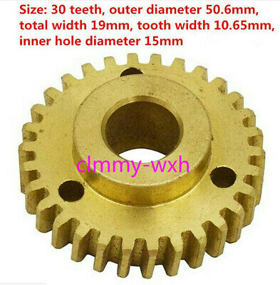 New B92 Bridgeport Milling Machine Parts Overload Clutch Worm Gear 2190103 M1386