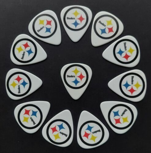 Pittsburgh Steelers Guitar Picks (12 picks) *BUY TWO, GET THIRD FREE