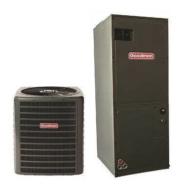 Goodman 5 Ton 14 SEER 60,000 BTU Central Air Condenser & Air Handler Package