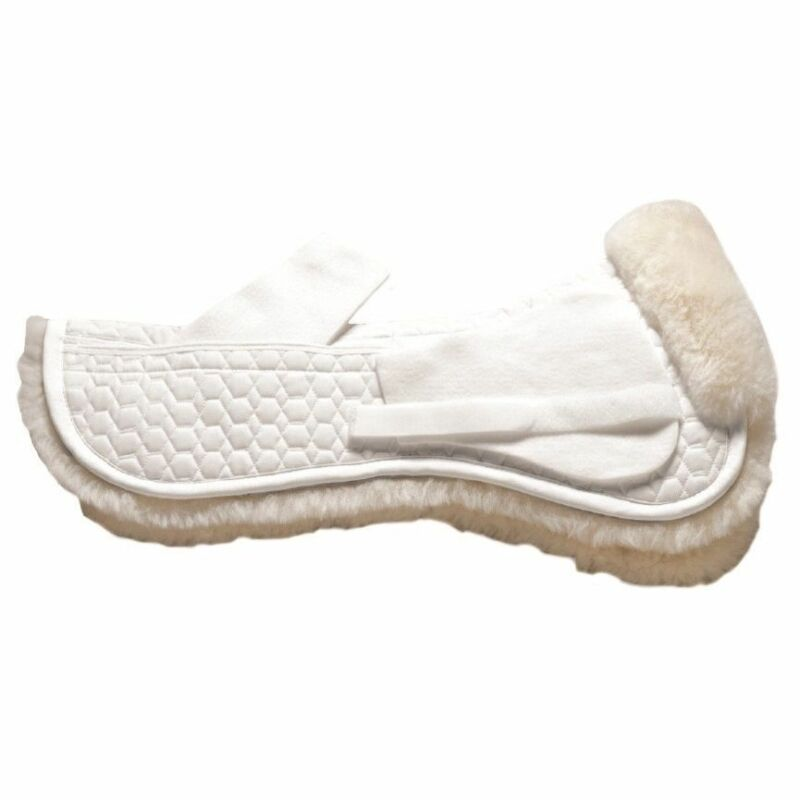 Mattes GOLD Wool Correction Half Pad NO TRIM - All Purpose - Black or White