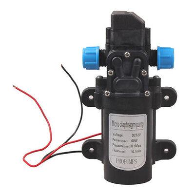 Mini Micro Diaphragm High Pressure Water Pump Automatic Switch Dc 12v 60w Rf