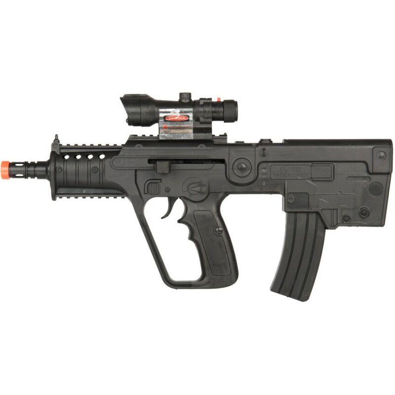 SA80 L85 BULLPUP SPRING AIRSOFT SMG RIFLE GUN w/ LASER SIGHT LIGHT 6mm BB BBs