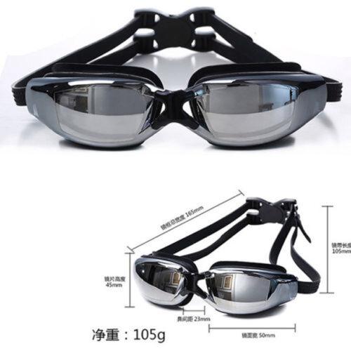Pro Adult Waterproof Anti-Fog UV Protect Swim Swimming Goggles Glasses KY