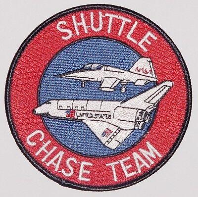 Aufnäher Patch Raumfahrt NASA Shuttle Chase Team ...........A3001