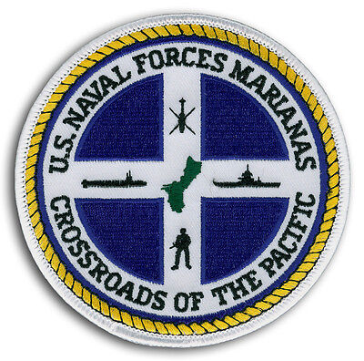 US Navy NAVAL FORCES MARIANAS Crossroads Of The Pacific